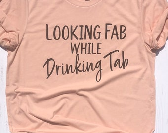 Tab Soda Shirt, Gift for Tab Lover, Soft Unisex Shirt