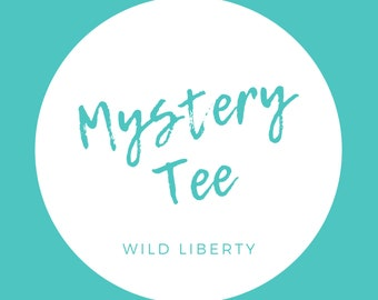 Unisex Mystery T-Shirt | Mystery Box | Sale Shirt | Clearance T-Shirt | Unique Gift Idea | Mystery Tee | Mystery Graphic Shirt