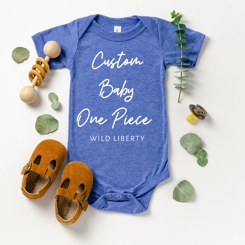 Custom baby shirt Personalized baby gift Create your own baby one piece Custom infant bodysuit baby shower gift Custom baby gift