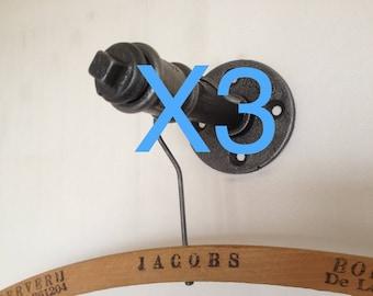 Industrial coat rack X 3