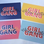 Girl Gang Postcards