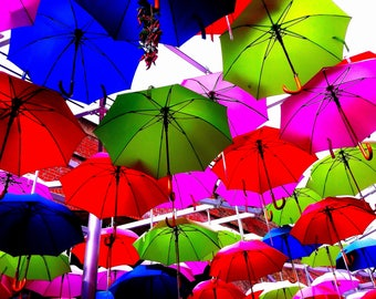 Brollies London Print 0088