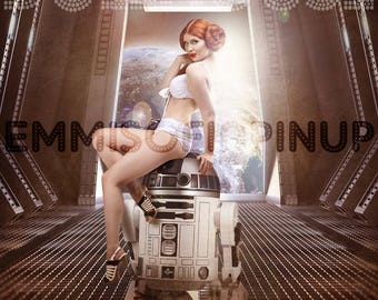 Star Wars Pin Up Art Etsy