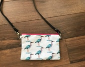 Heron cross body bag