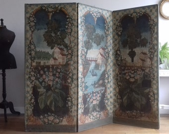Provençal screen of the 18th century