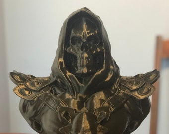"""3D Printed Skeletor Bust - 12"""" Tall - Free Shipping!"""