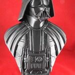 "3D Printed Darth Vader Bust - 10"" Tall"