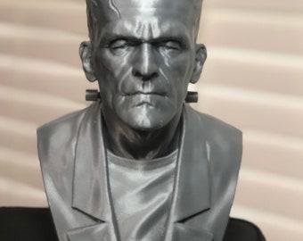 """3D Printed Frankenstein Monster - 8"""" Tall"""