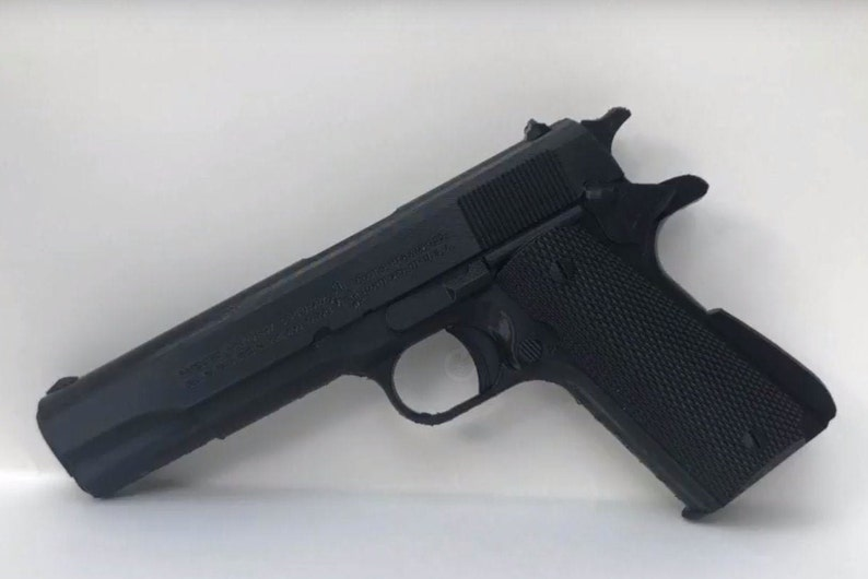 3D Printed Colt 1911-A1  Great for Props Cosplay image 0