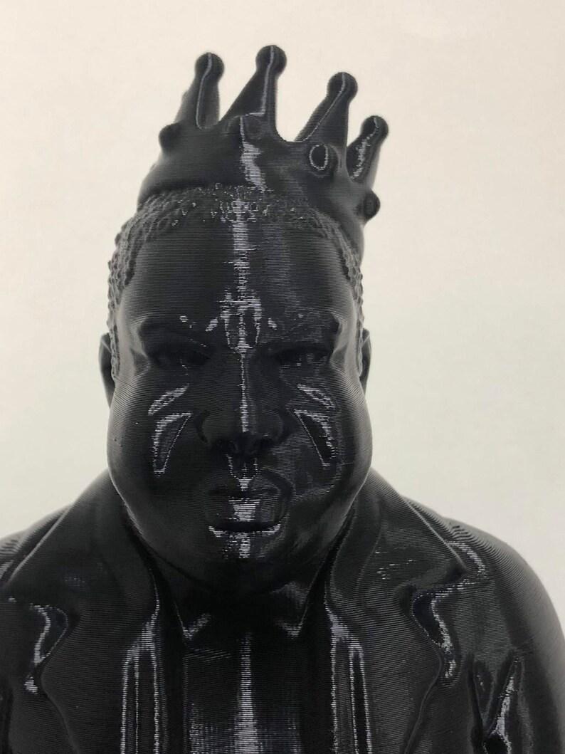 3D Printed Notorious B.I.G.  Biggie Smalls  Biggie image 0