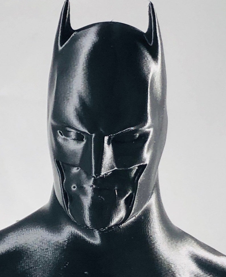 3D Printed Batman Bust  7.5 Tall image 0