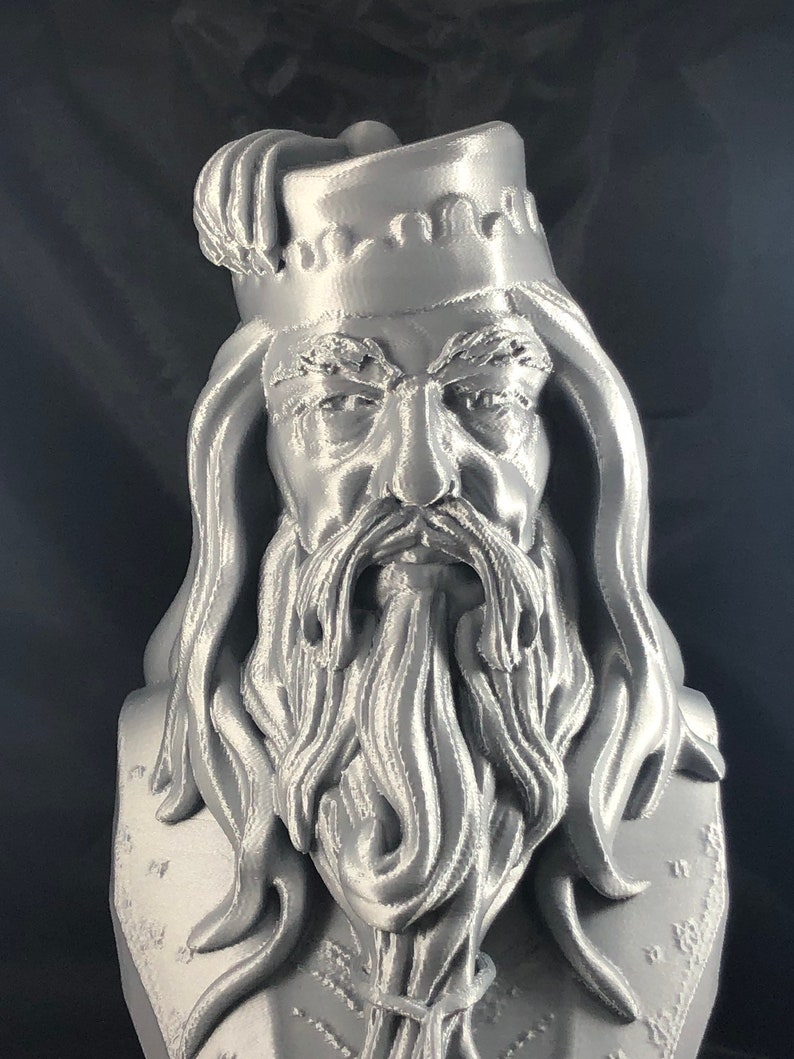 3D Printed Albus Dumbledore Bust image 0