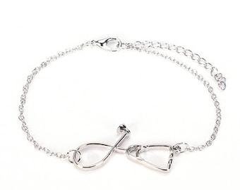 Stethoscope Bracelet - Gifts for Nurses -  Nurse Graduation - Nurse Bracelet - Medical Bracelet