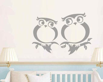 Baby room, nursery cute owls love