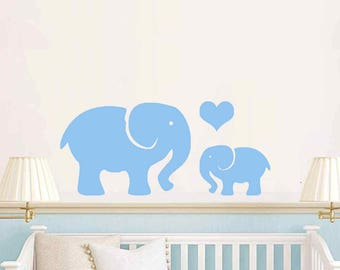 Baby room Elephants Love