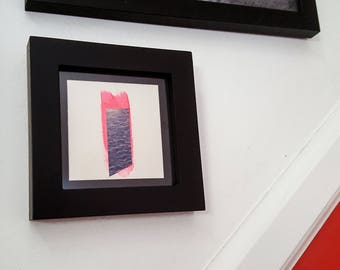 Abstract 6 -  Framed One of a Kind Collage