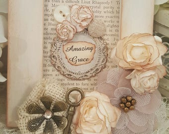 Inspirational Framed Art Piece - Amazing Grace