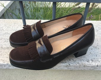 7d87f1bd3a6 Original Women Loafer Moccasin N.O.S. New Old Stock in Suede and Leather