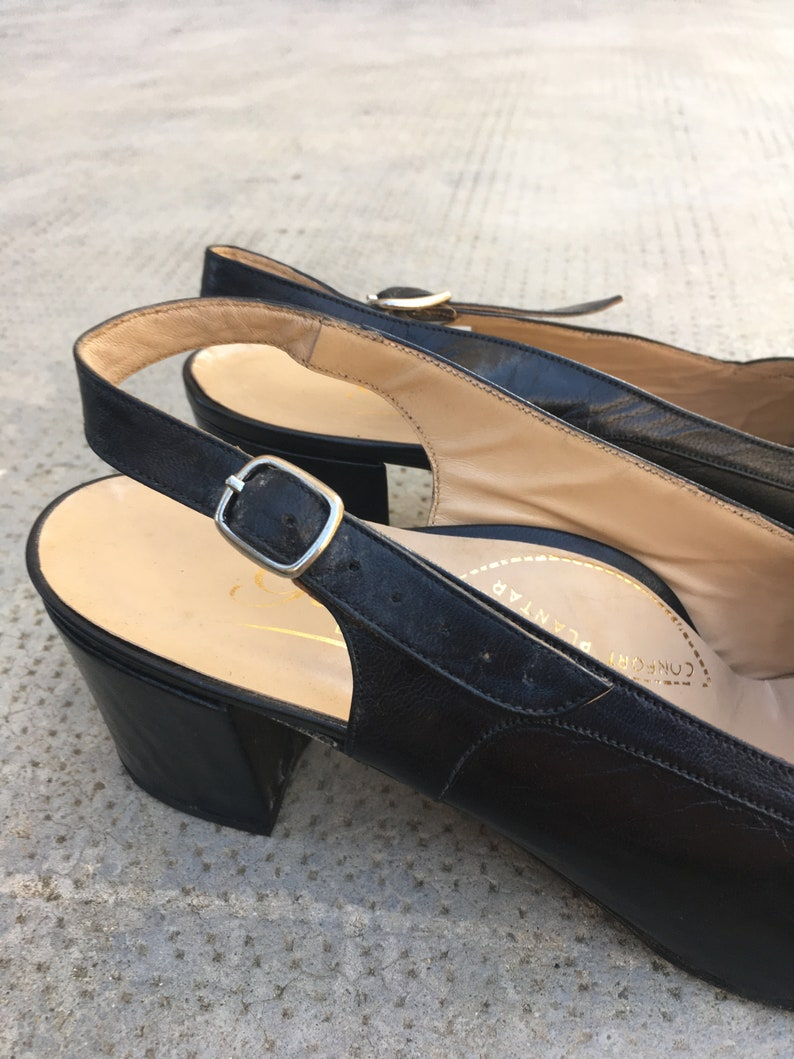 12d06fe2e374b Very elegant women shoes with side buckle and medium heels