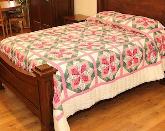 Dahlia Handmade Amish Quilt