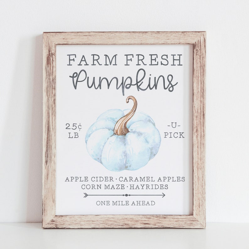 photo about Printable Pumpkin Pictures called Farm New Pumpkins Printable - Pumpkin Indicator - Drop Farmhouse Indicator - Drop Printable - Pumpkin Decor - Seasonal Signs and symptoms - Impartial Slide Decor