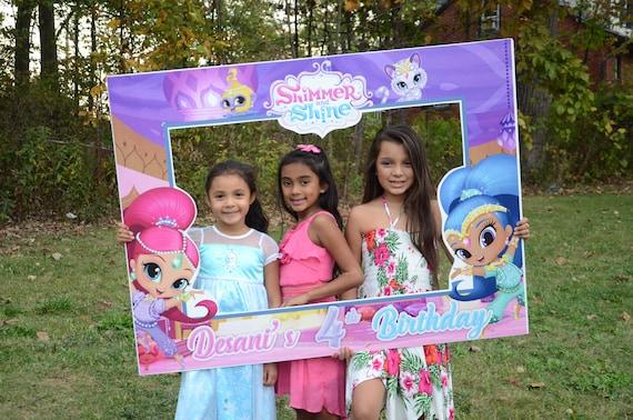 Shimmer And Shine Dolls Birthday Frames Shimmer And Shine Etsy