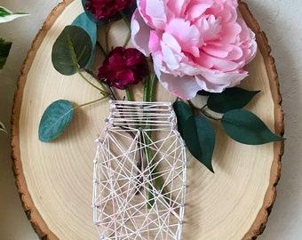 MOTHERS DAY   Mason Jar String Art