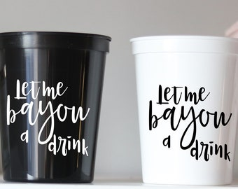 Girls Trip Styrofoam Any Location Event Cup NOLA Bachelorette Bachelorette Cups 1666 Cup Party Cups NOLA Party Cups Foam Cup NOLA