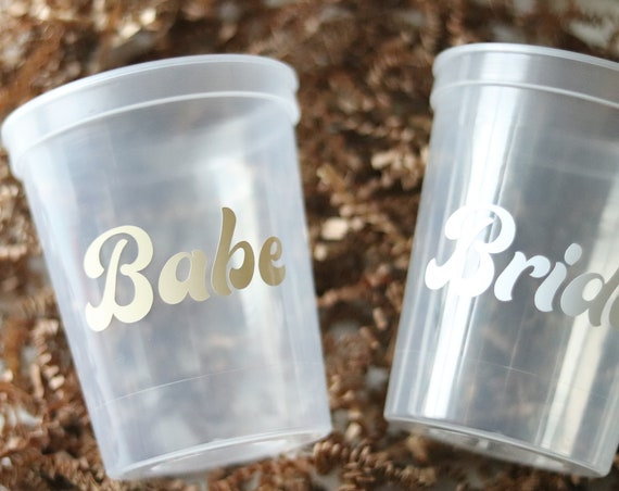 Bachelorette Party Cups