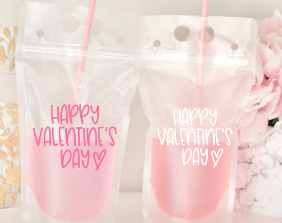 Happy Valentine's Day Favors | Valentine's Favors | Galentine's Day Favors | Galentine's Day Brunch Favors | Be my Galentine | Kids Favors