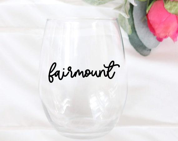 Fairmount Philadelphia Wine glass   Neighborhoods of Philly Wine glass   Philly Neighborhoods Wine glass   Philly Wine glass   Philly Gift