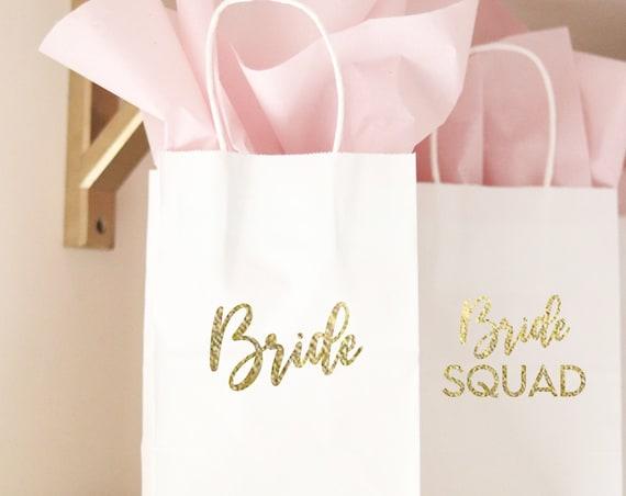 Bride Squad Favors | Bride Squad Bachelorette Gift Bags | Bride Squad Bachelorette | Bride Squad | Bachelorette Gift Bags | Bride Squad Bags