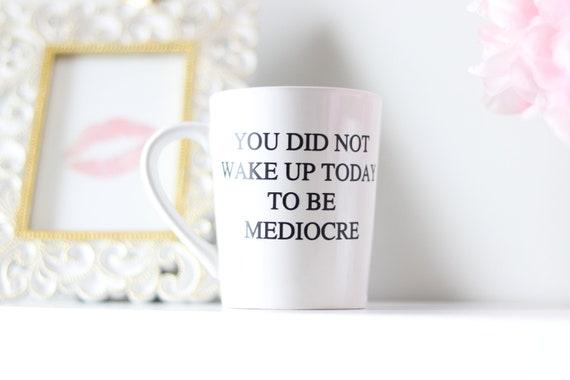 Inspirational Mug | Monday Mug | Coffee Mug | Work Mug | New Job Mug | You can do it Mug | Mug Gifts | Coffee Mug Gifts | Cute Gifts | Fun