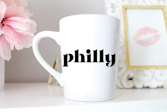Philadelphia Mug | Philly Gift | Philly Mug | Phila Mug | City of Brotherly Love Mug | Philadelphia Gift | Philly Present | Philly Wedding