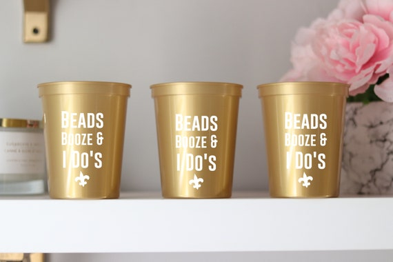 New Orleans Bachelorette Party Cups | NOLA Bachelorette | Bach Party Favors Gifts | Personalized | Customized  Bach Party | Bachelorette