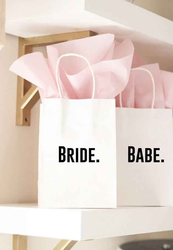 Bride   Babe   Bride Babe Favors   Bride Babe Gift Bags   Bride and Babe Bachelorette Favors   Retro Bachelorette Party Favors    Gift Bags
