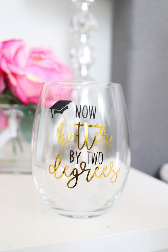 Graduation Wine glass Gift 2020 | Masters Degree Graduate School Gift | Personalized Grad Gift | Wine glass | Class of 2020 Gift | Law Schoo