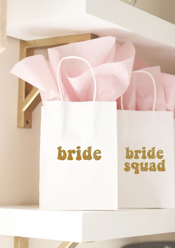 Bride Squad Bachelorette Gift Bags | Bride Squad Favors | Bride Squad Bachelorette | Bride Squad | Bachelorette Gift Bags | Bride Squad Bags