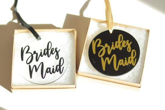 Bridesmaid Ornament   Bridesmaid Proposal Ornament Gift   Bridesmaid Christmas Ornament   Bridesmaid Proposal Gift   Christmas Bridal Party