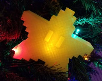 Super Mario Bros. Power Star Christmas Tree Topper