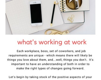 Coping With Work-Related Stress Workbook