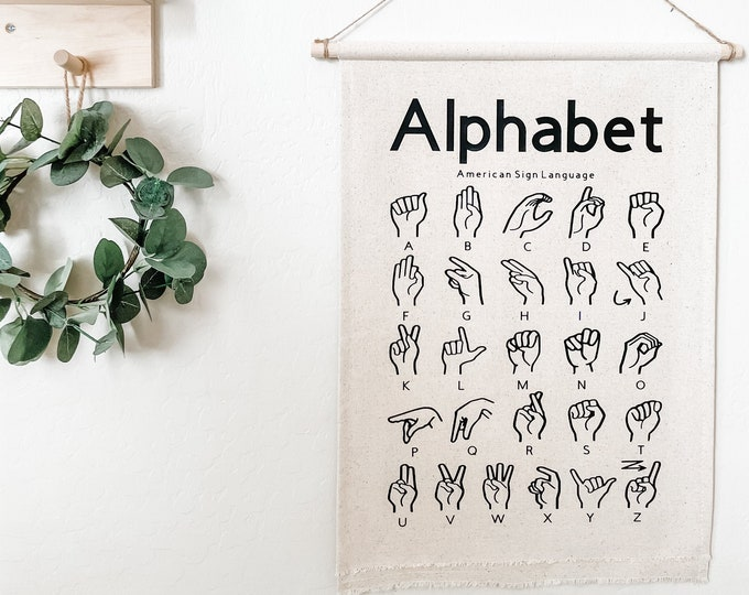 Featured listing image: ASL Educational Banners for Kids