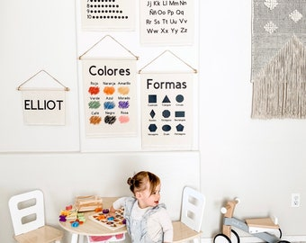 SPANISH Educational Banners for Kids