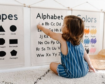 PREORDER Educational Banners for Kids (New Version)