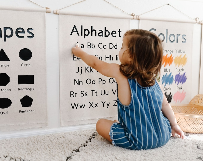 Featured listing image: PREORDER Educational Banners for Kids (New Version)