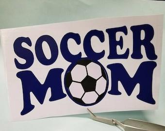 Soccer Mom Decal