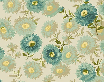 bright floral sewing fabric garden quilting fabric succulent quilting cotton colourful succulent fabric Floral fabric by half yard