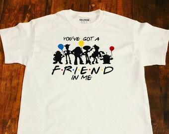 Toy Story Shirt, Family Shirts, Disney Shirts, Woody Shirt, T-Shirt, Mens Shirt, Womens Shirt, Gift, Disney, Buzz Lightyear, Friends