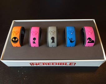 Nightmare Before Christmas Decal, Magic Band Decals, Jack Skellington, Disney Character Decals, Magic Band Stickers, Magic Band
