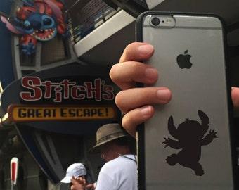 Stitch, Disney Stitch Sticker, Stitch Sticker, Stitch Decal, Phone Cover, Disney Stickers, Disney Vinyl Decals
